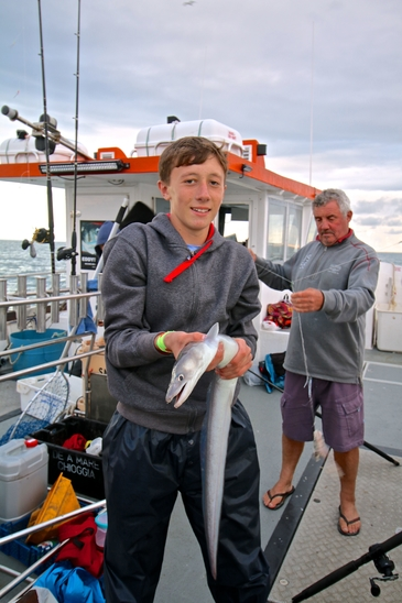 find out more about half day fishing trips in weymouth
