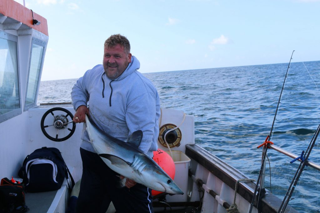 Find out more about Shark fishing from Weymouth