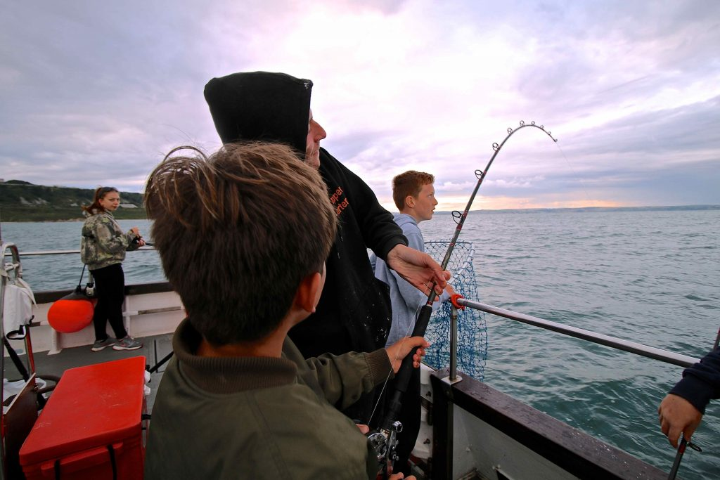 Find out more about junior fishing trips